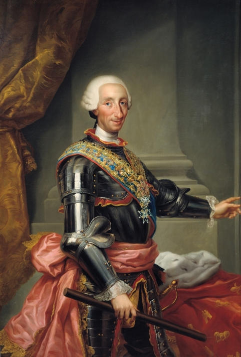 Fig. 4. P05011. Carlos III, Anton Rafael Mengs, 1774© Museo Nacional del Prado.